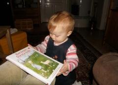 Johanna mit Buch