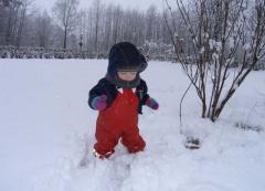 Johanna im Schnee