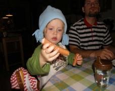 Wurst essen