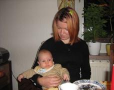 mit der Tante Eva