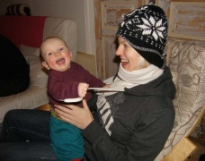 mit der Tante Hanna