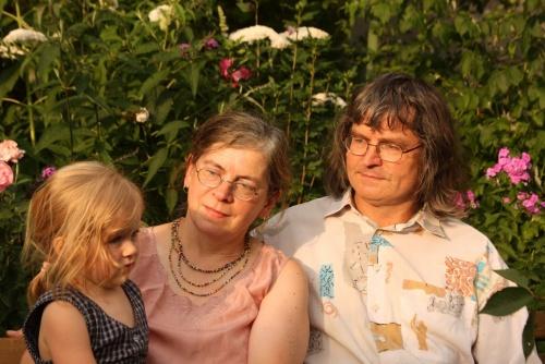 Mein Papa, meine Tante und Johanna