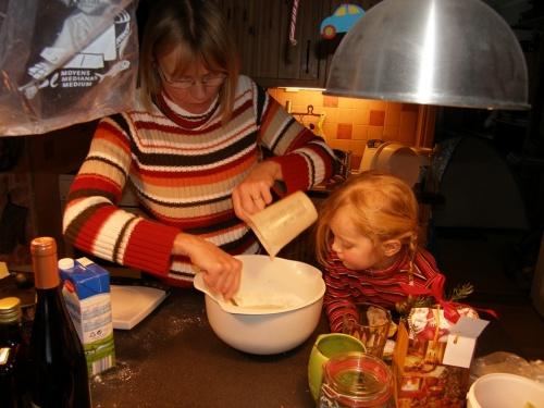Kuchenbacken mit Omi