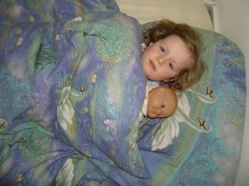 Johanna und ihr Baby