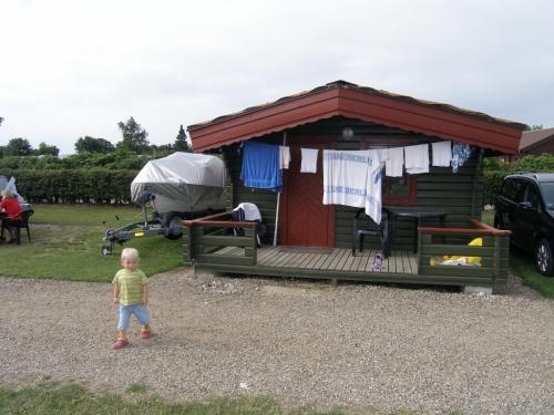 unsere Hütte in Dänemark