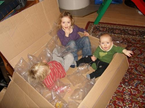 wozu Verpackungsmaterial gut sein kann
