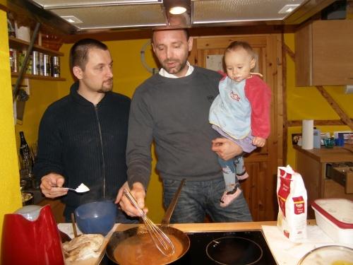 die Männer kochen