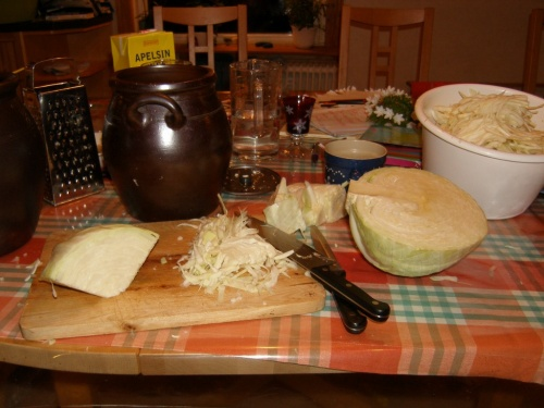 Sauerkraut machen