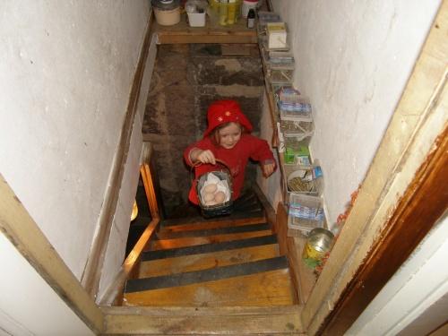 Eier aus dem Keller