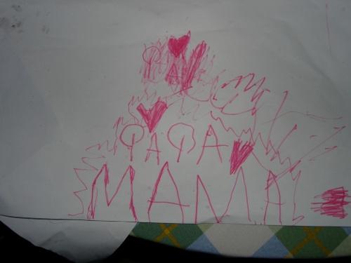 Johanna weiß es: Papa + Mama = Liebe