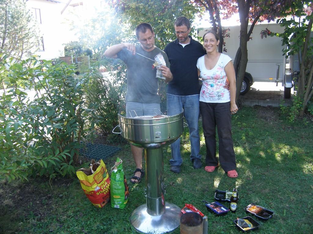 Grillen bei Daniela und Holger