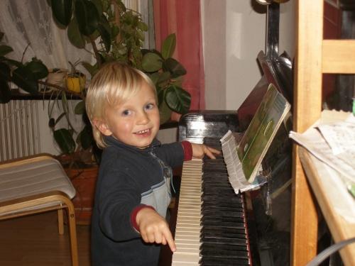 Klaviermusik aus dem Bilderbuch