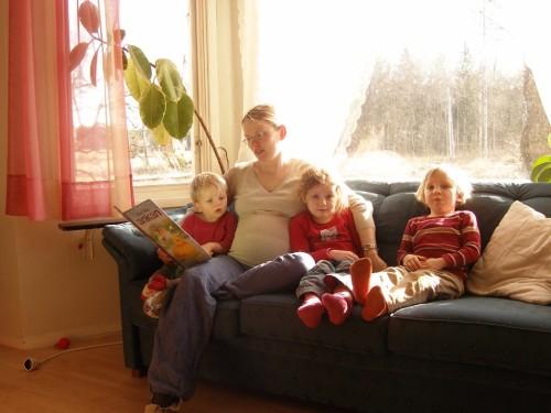 meine 4 Kinder und ich