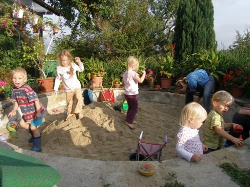 der große Sandkasten