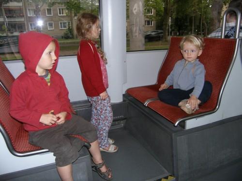 Straßenbahn fahren