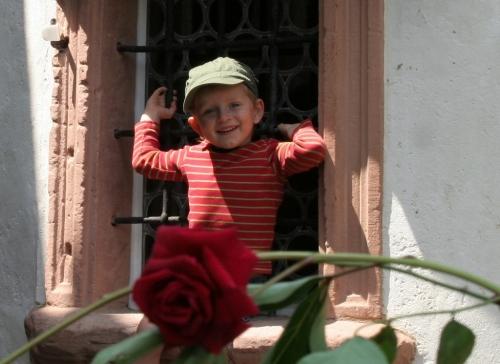 auch Jungs mögen's mit Blumen