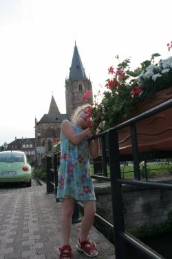 aus dem sommerlichen Wissembourg