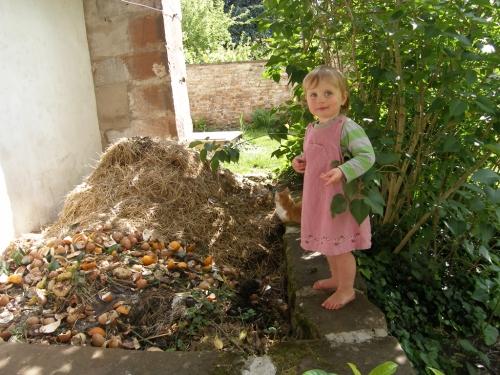 Spaziergang am Komposthaufen