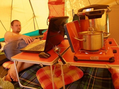 Leben im Zelt