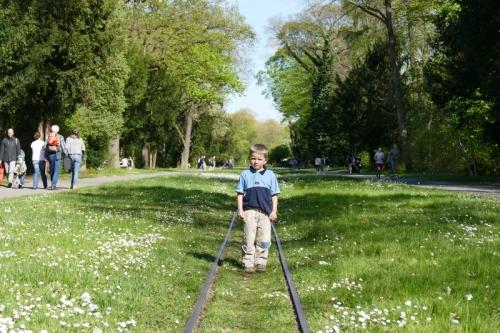 im Schlosspark Karlsruhe