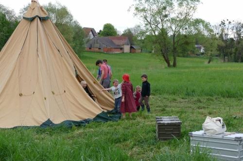 Tent-Tipi