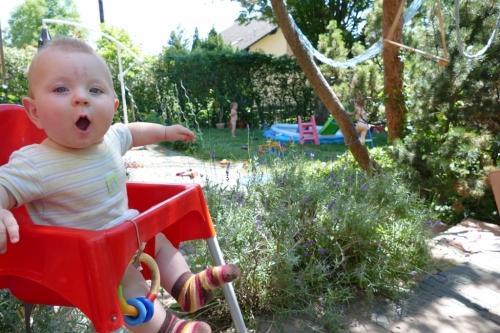 Bauernhofurlaub und sommerhitze schmids rasselbande for Garten pool leeren